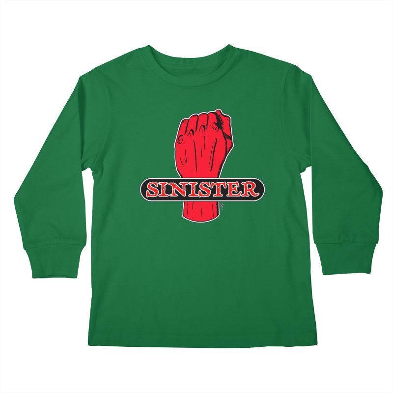 Are you Sinister? Left Handers Day Kids Longsleeve T-Shirt by donnovanknight's Artist Shop