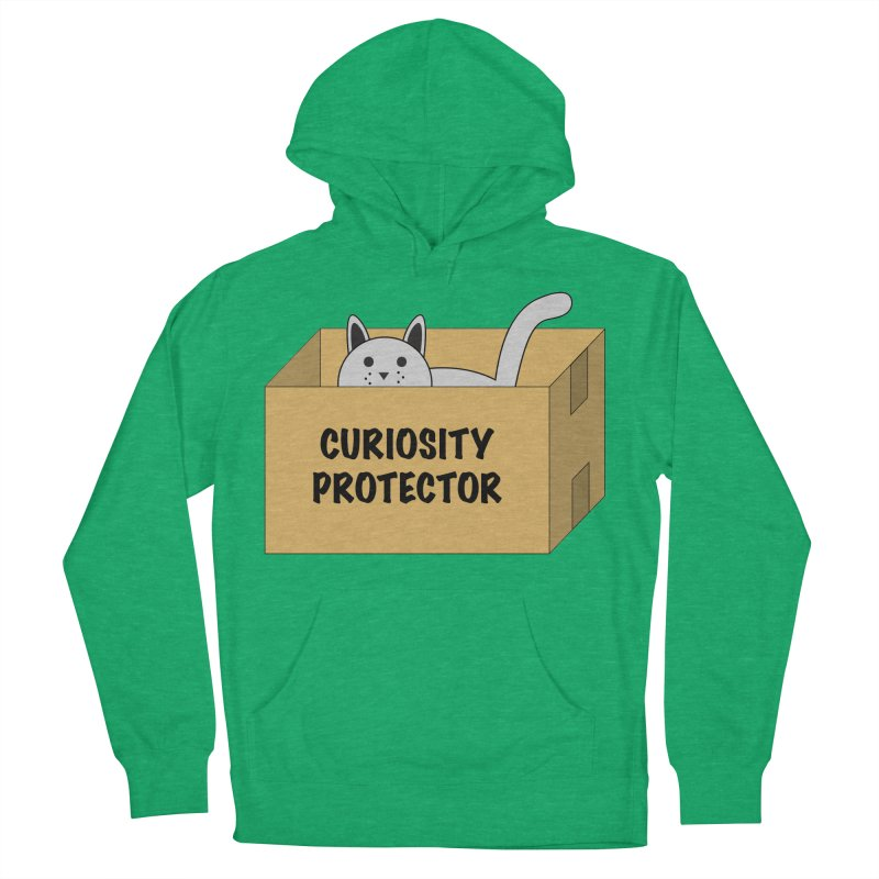 "Cat ""Curiosity Protector"" A.K.A. ""BOX"" Women's Pullover Hoody by donnovanknight's Artist Shop"