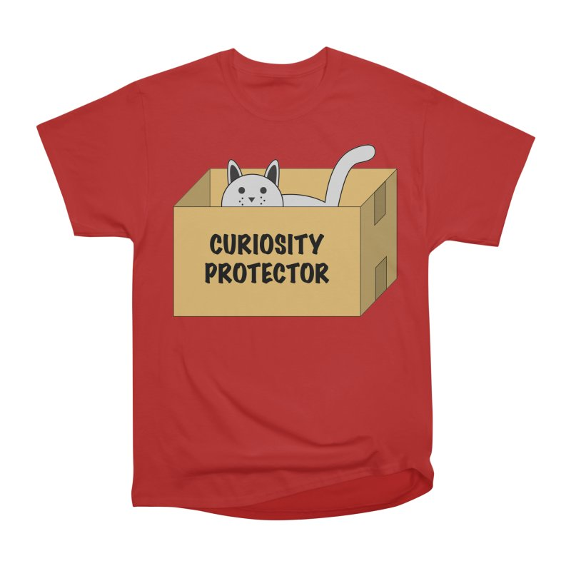 "Cat ""Curiosity Protector"" A.K.A. ""BOX"" Men's Classic T-Shirt by donnovanknight's Artist Shop"