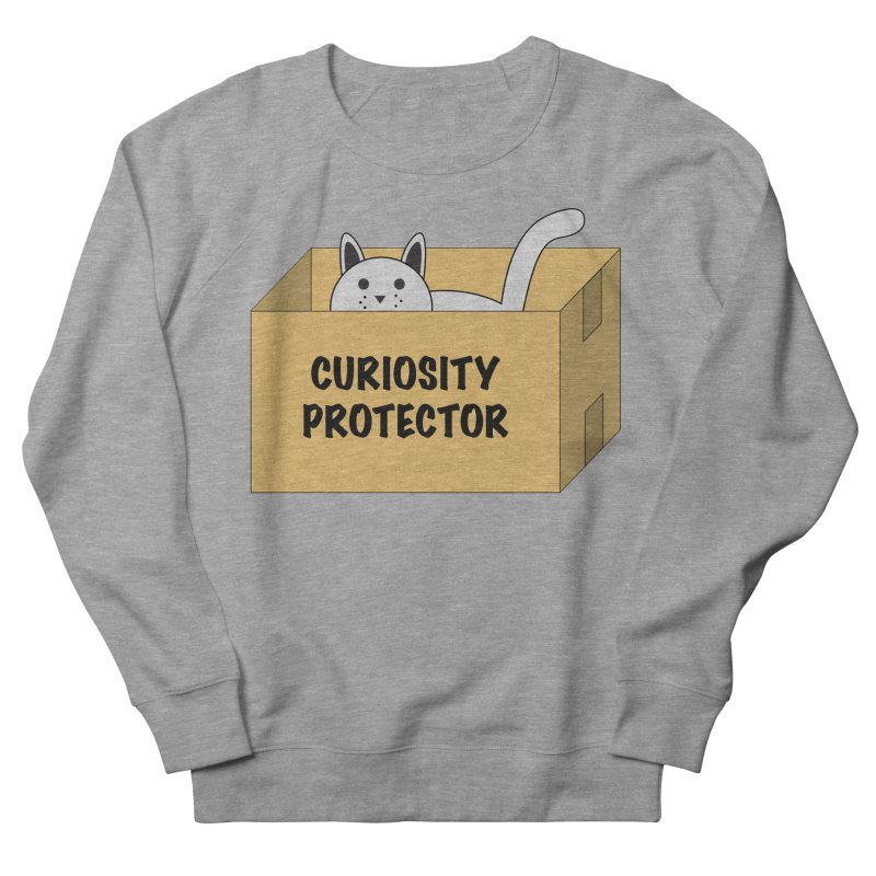 "Cat ""Curiosity Protector"" A.K.A. ""BOX"" Women's Sweatshirt by donnovanknight's Artist Shop"