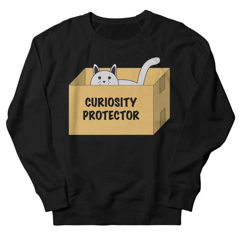 "Cat ""Curiosity Protector"" A.K.A. ""BOX"" Men's Sweatshirt by donnovanknight's Artist Shop"