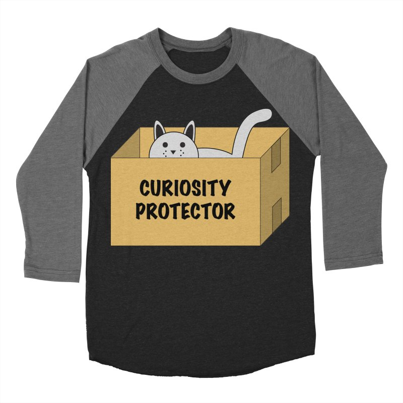 "Cat ""Curiosity Protector"" A.K.A. ""BOX"" Women's Baseball Triblend T-Shirt by donnovanknight's Artist Shop"