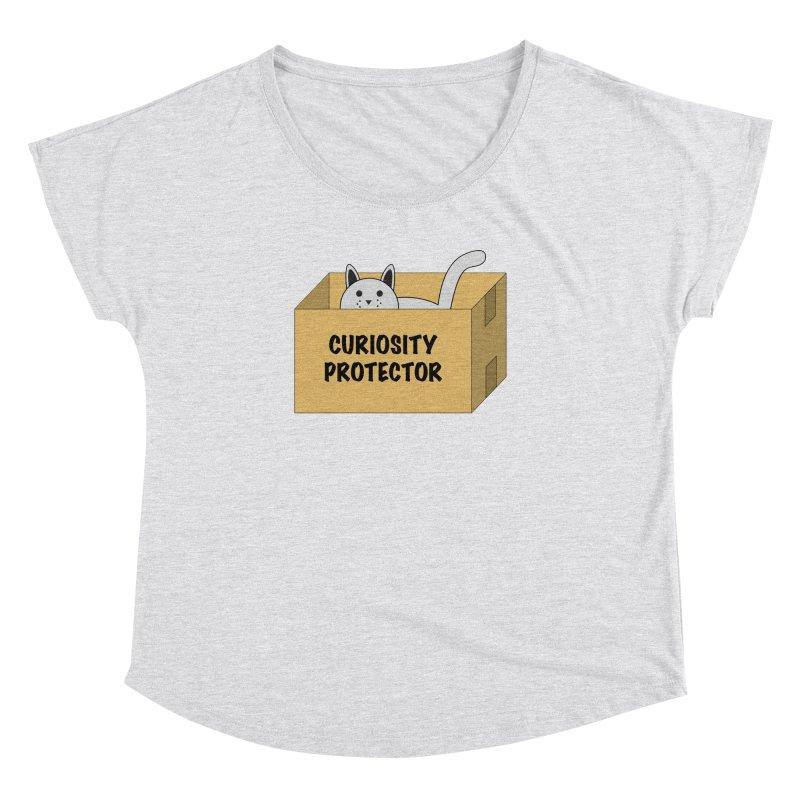 "Cat ""Curiosity Protector"" A.K.A. ""BOX"" Women's Dolman by donnovanknight's Artist Shop"