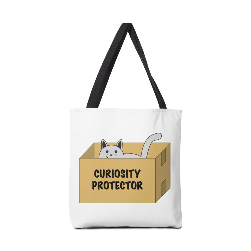 "Cat ""Curiosity Protector"" A.K.A. ""BOX"" Accessories Bag by donnovanknight's Artist Shop"