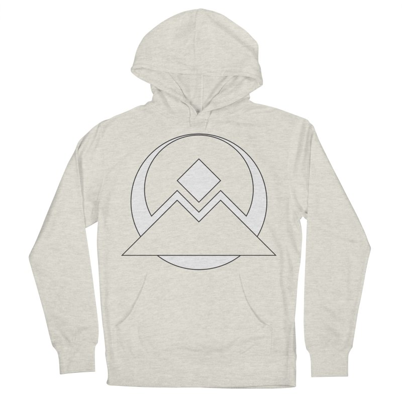 Snowy Mountain Pass Men's Pullover Hoody by donnovanknight's Artist Shop