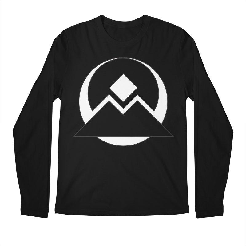 Snowy Mountain Pass Men's Longsleeve T-Shirt by donnovanknight's Artist Shop