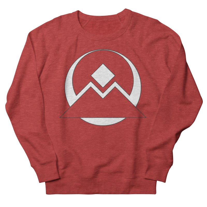Snowy Mountain Pass Women's Sweatshirt by donnovanknight's Artist Shop