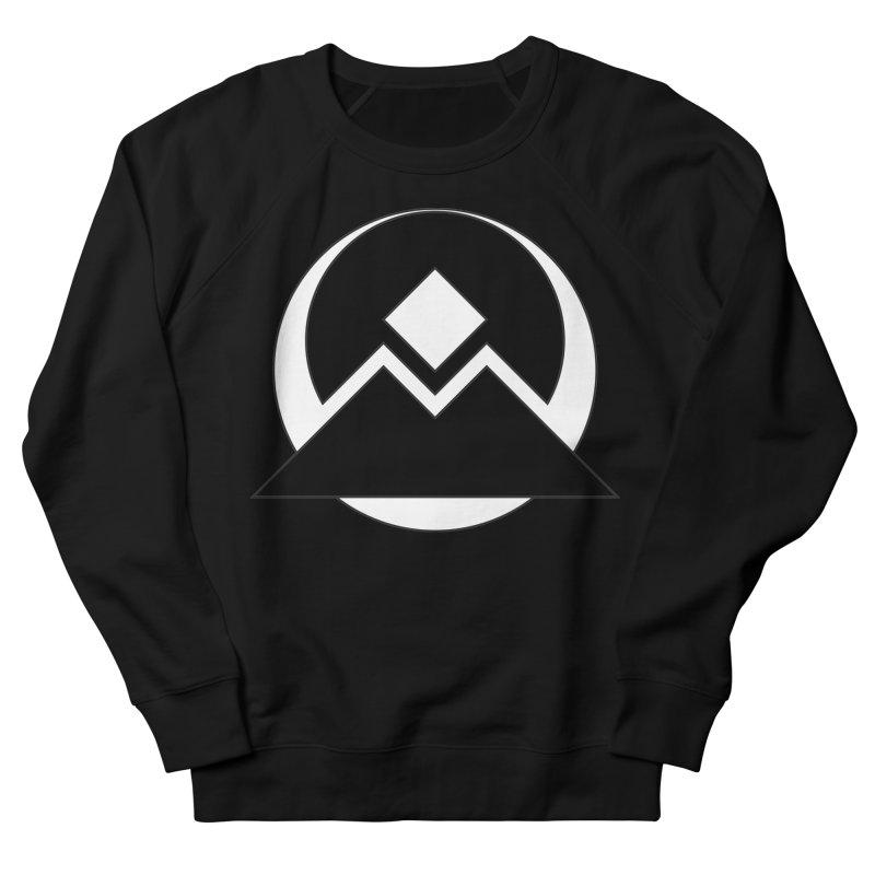 Snowy Mountain Pass Men's Sweatshirt by donnovanknight's Artist Shop