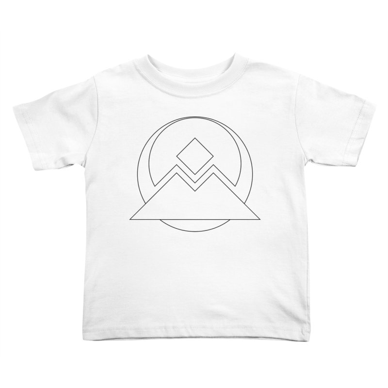 Snowy Mountain Pass Kids Toddler T-Shirt by donnovanknight's Artist Shop