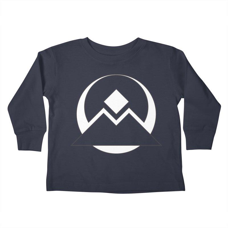 Snowy Mountain Pass Kids Toddler Longsleeve T-Shirt by donnovanknight's Artist Shop