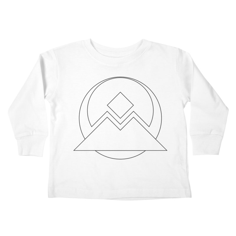 Snowy Mountain Pass Kids Toddler Longsleeve T-Shirt by donnovanknight's Artist Shop