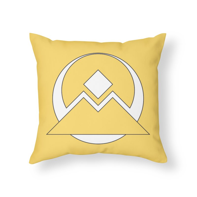 Snowy Mountain Pass Home Throw Pillow by donnovanknight's Artist Shop