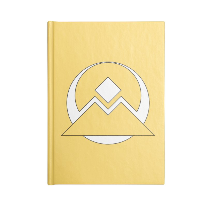 Snowy Mountain Pass Accessories Notebook by donnovanknight's Artist Shop