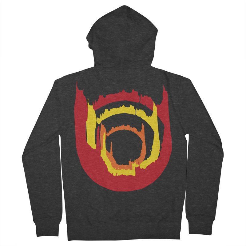 Ring of Fire Men's Zip-Up Hoody by donnovanknight's Artist Shop