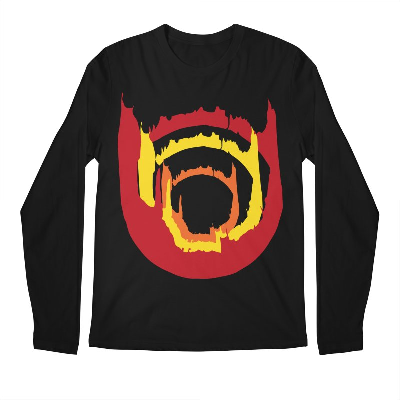 Ring of Fire Men's Longsleeve T-Shirt by donnovanknight's Artist Shop