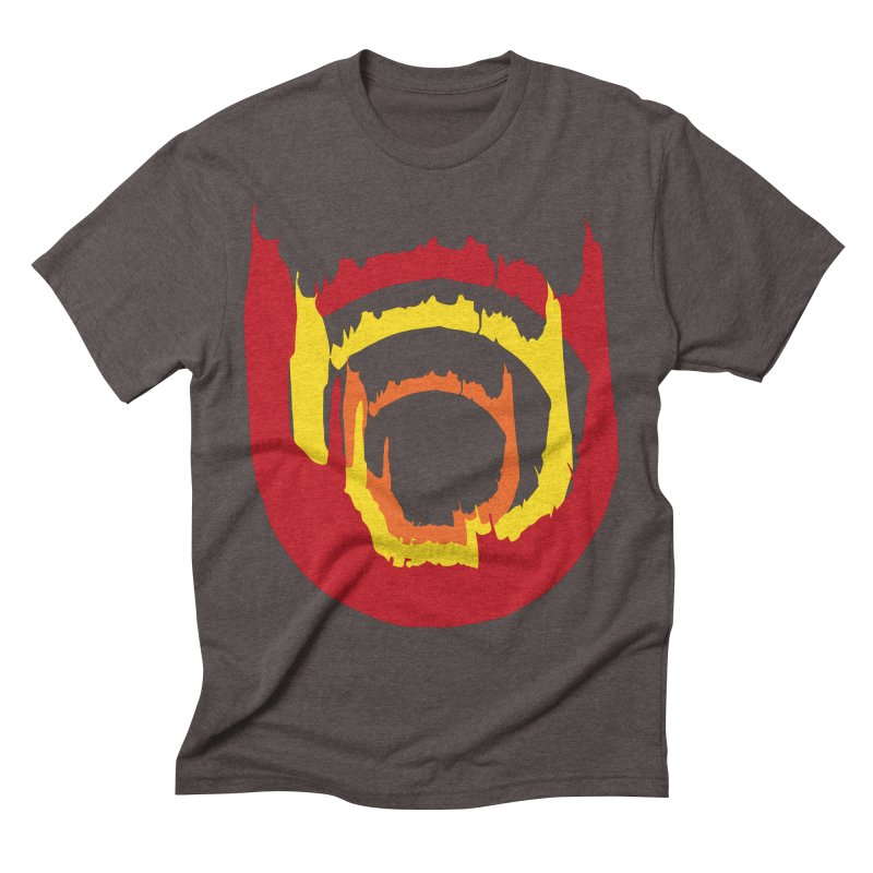 Ring of Fire Men's Triblend T-Shirt by donnovanknight's Artist Shop