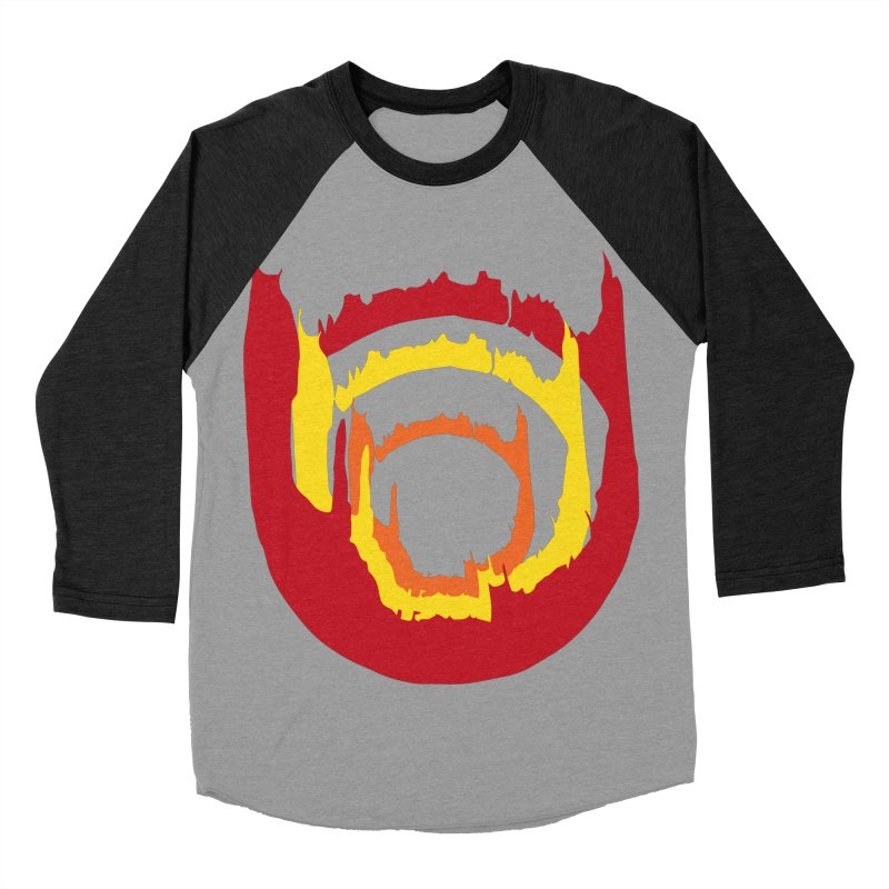 Ring of Fire Men's Baseball Triblend T-Shirt by donnovanknight's Artist Shop
