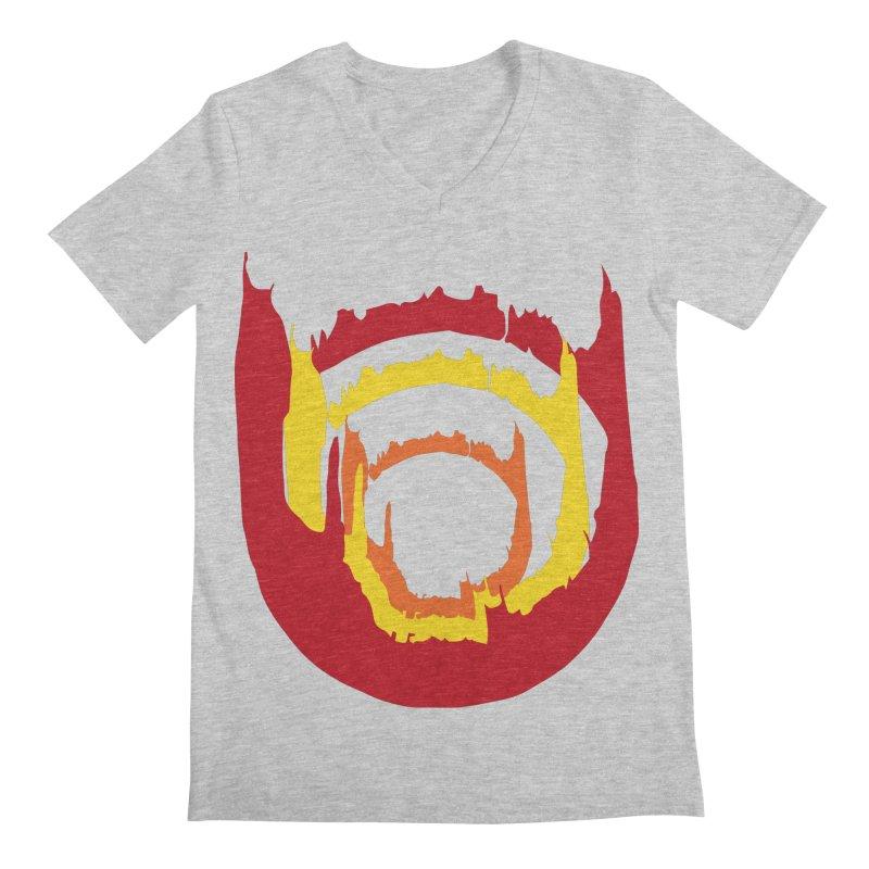 Ring of Fire Men's V-Neck by donnovanknight's Artist Shop