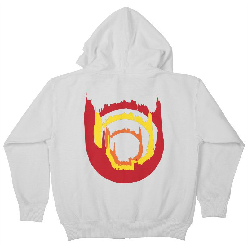 Ring of Fire Kids Zip-Up Hoody by donnovanknight's Artist Shop