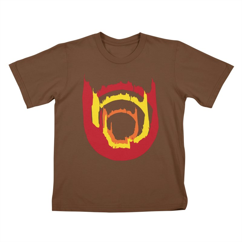 Ring of Fire Kids T-Shirt by donnovanknight's Artist Shop