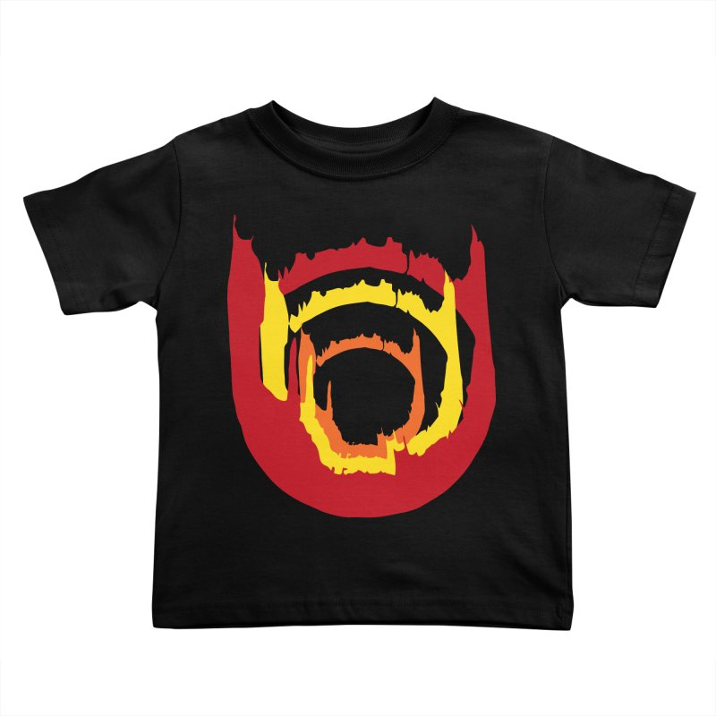 Ring of Fire Kids Toddler T-Shirt by donnovanknight's Artist Shop