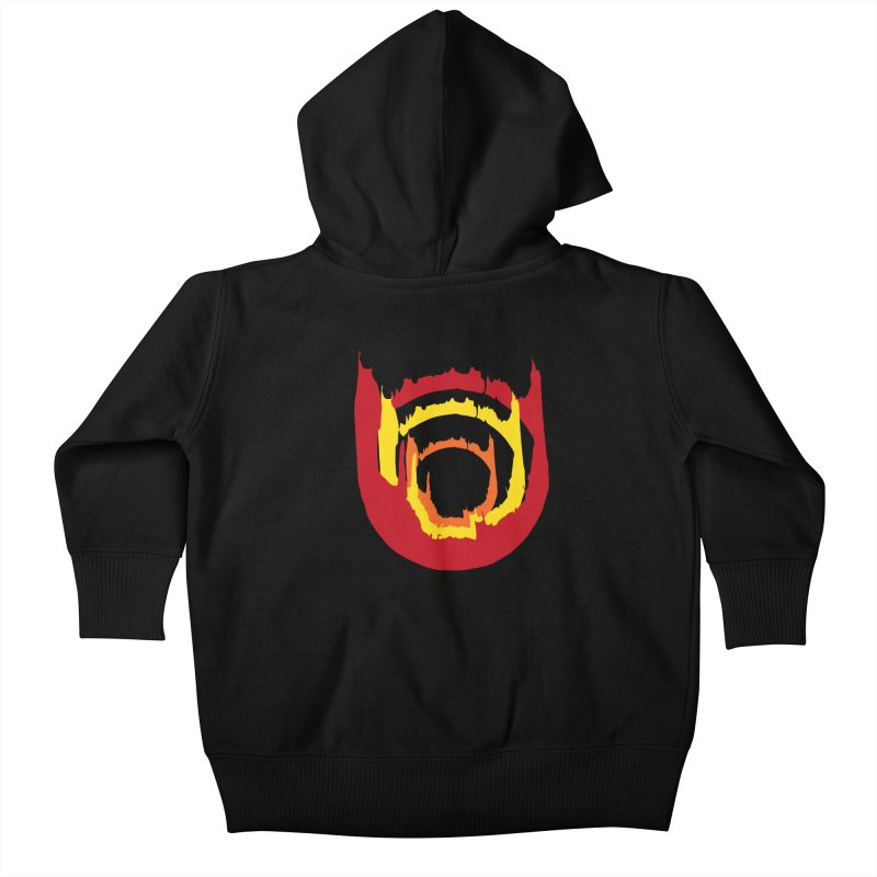 Ring of Fire Kids Baby Zip-Up Hoody by donnovanknight's Artist Shop