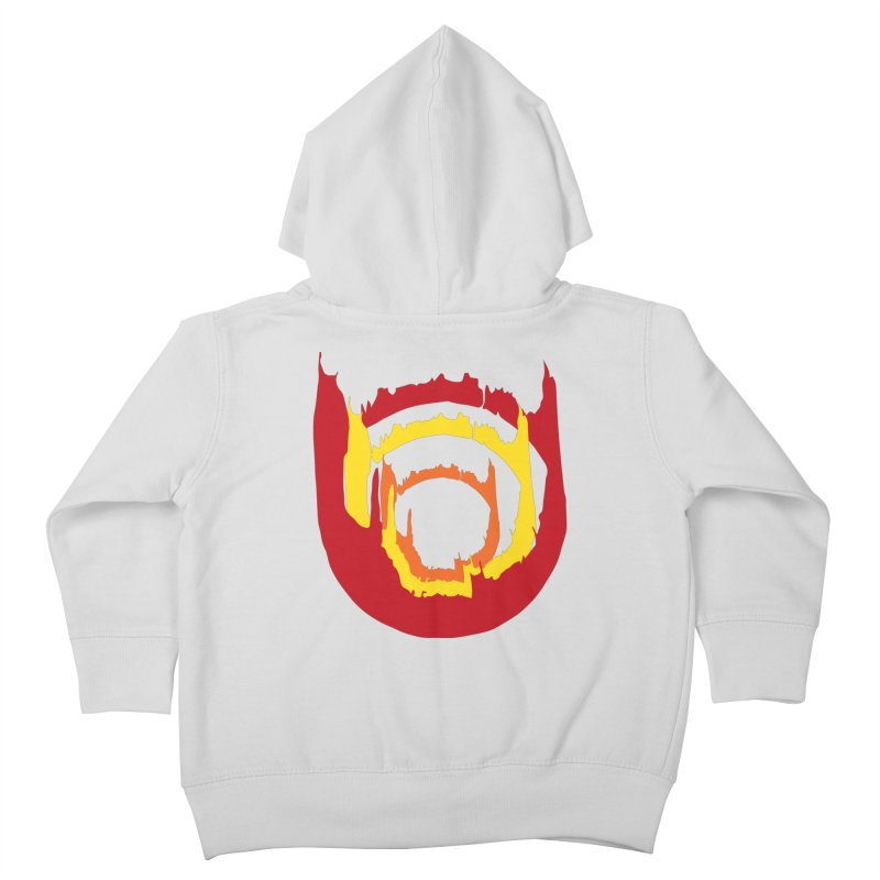 Ring of Fire Kids Toddler Zip-Up Hoody by donnovanknight's Artist Shop