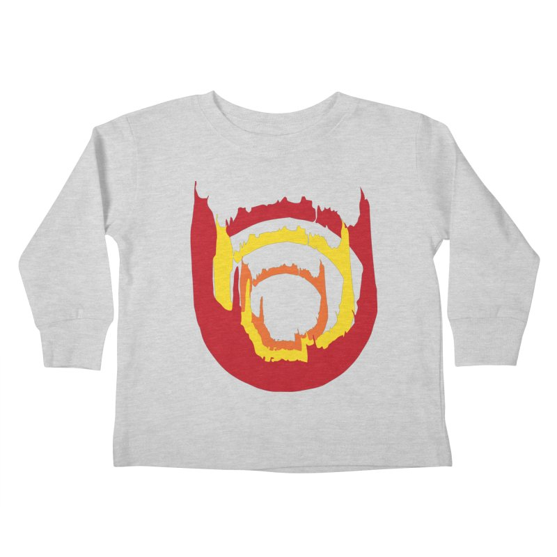 Ring of Fire Kids Toddler Longsleeve T-Shirt by donnovanknight's Artist Shop