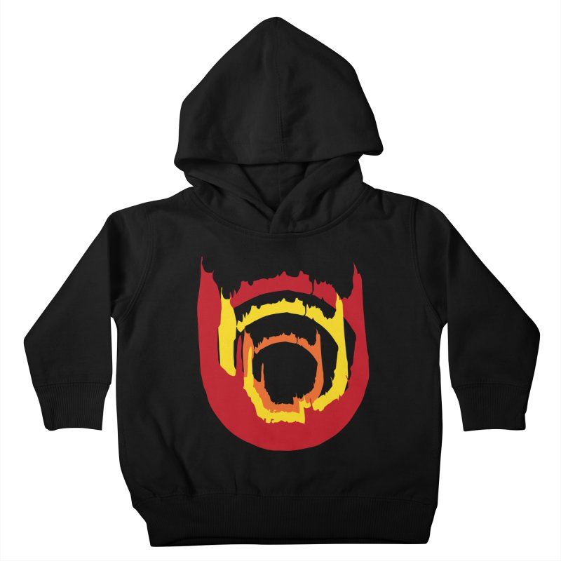 Ring of Fire Kids Toddler Pullover Hoody by donnovanknight's Artist Shop