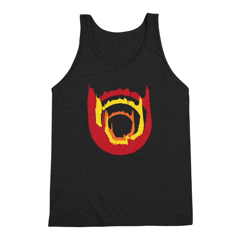 Ring of Fire Men's Triblend Tank by donnovanknight's Artist Shop