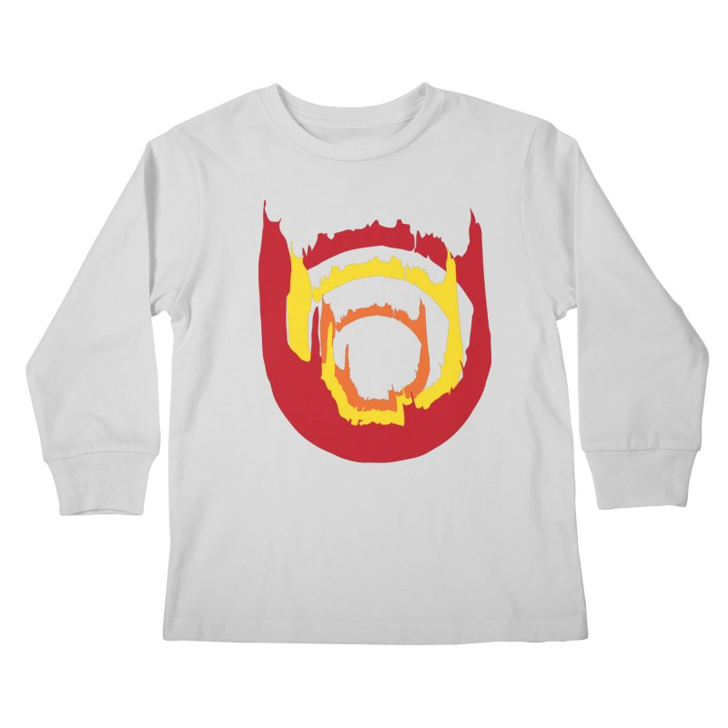 Ring of Fire Kids Longsleeve T-Shirt by donnovanknight's Artist Shop