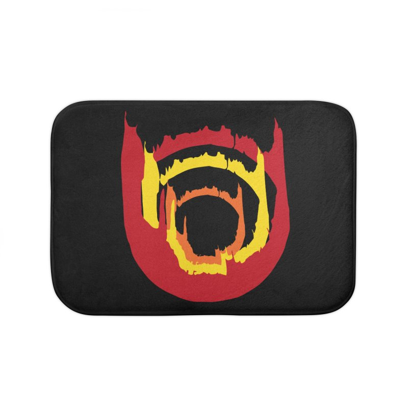 Ring of Fire Home Bath Mat by donnovanknight's Artist Shop