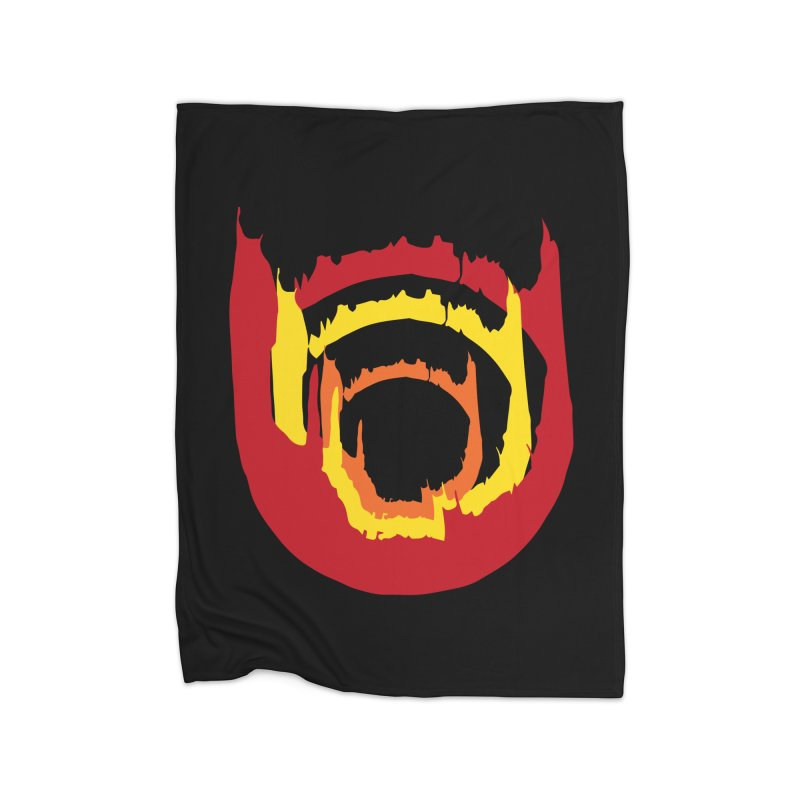 Ring of Fire Home Blanket by donnovanknight's Artist Shop