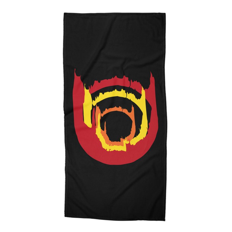 Ring of Fire Accessories Beach Towel by donnovanknight's Artist Shop