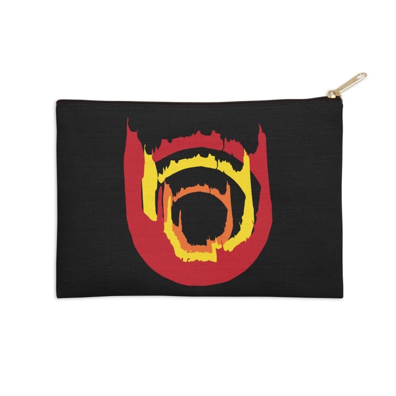 Ring of Fire Accessories Zip Pouch by donnovanknight's Artist Shop