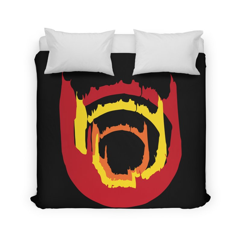 Ring of Fire Home Duvet by donnovanknight's Artist Shop