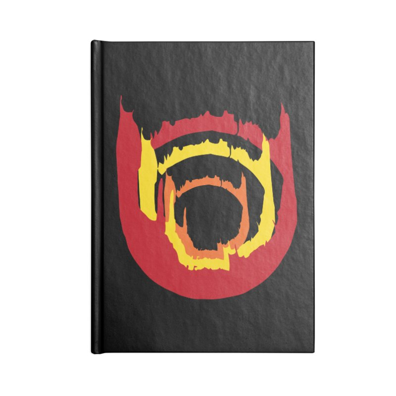 Ring of Fire Accessories Notebook by donnovanknight's Artist Shop