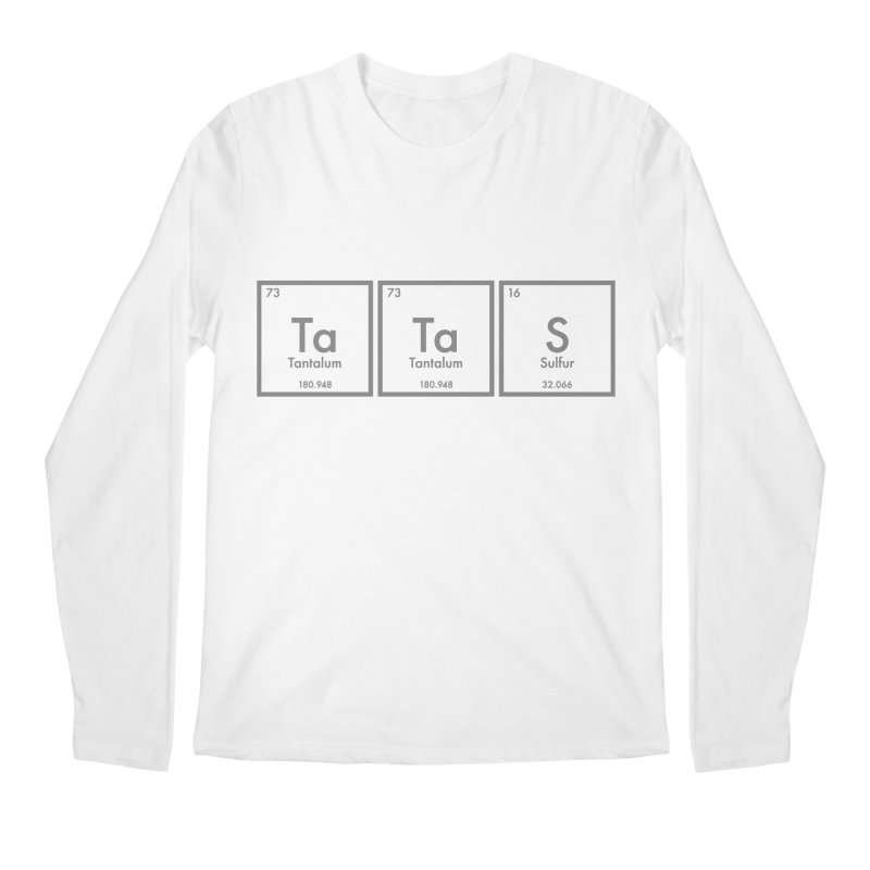 Ta Ta S (Save the Elements!) Men's Longsleeve T-Shirt by donnovanknight's Artist Shop