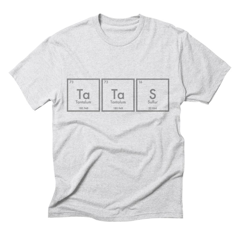 Ta Ta S (Save the Elements!) Men's Triblend T-shirt by donnovanknight's Artist Shop
