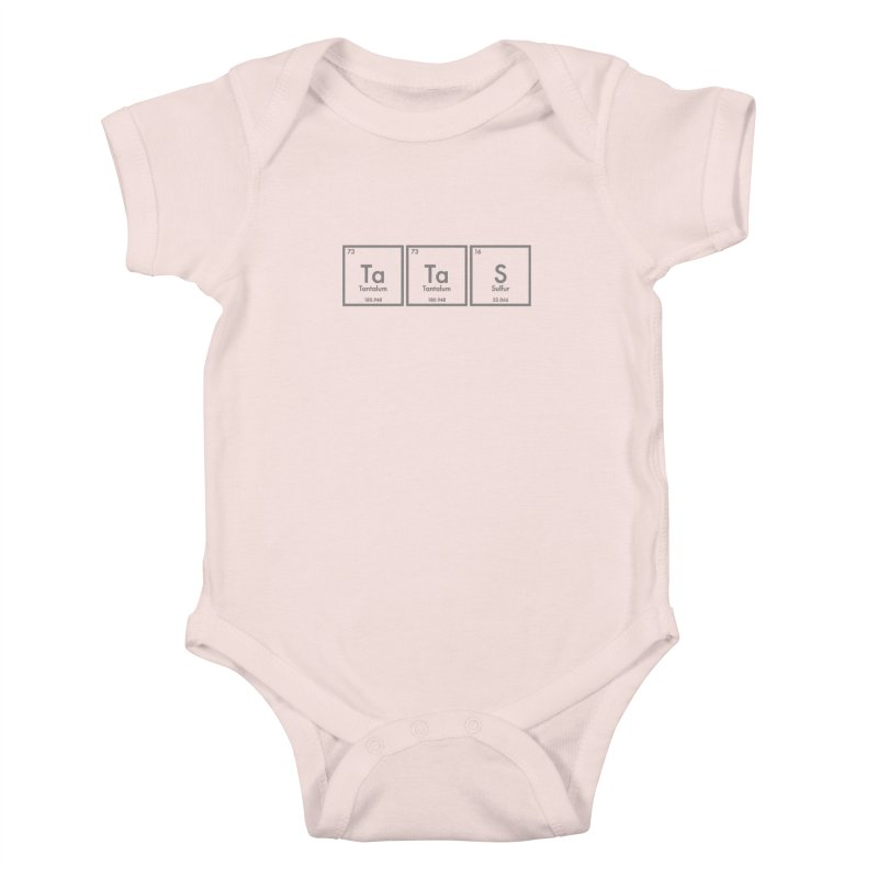Ta Ta S (Save the Elements!) Kids Baby Bodysuit by donnovanknight's Artist Shop