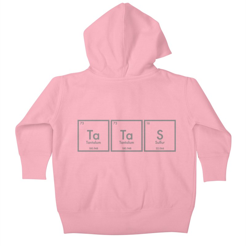 Ta Ta S (Save the Elements!) Kids Baby Zip-Up Hoody by donnovanknight's Artist Shop