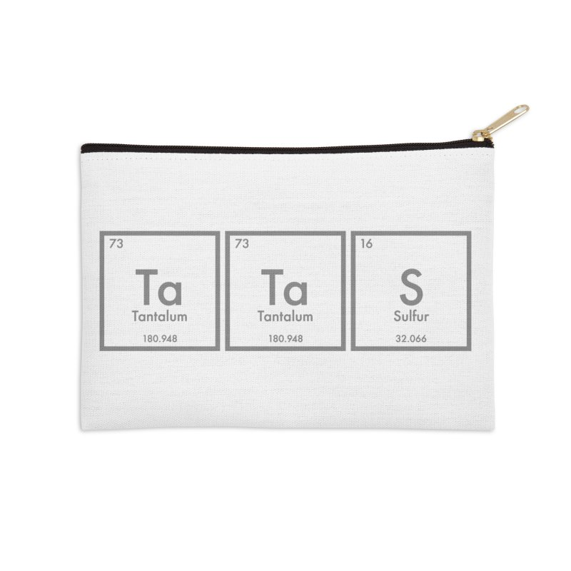 Ta Ta S (Save the Elements!) Accessories Zip Pouch by donnovanknight's Artist Shop