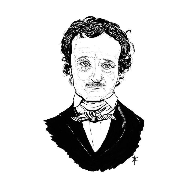 Edgar Allan Poe by donnovanknight's Artist Shop
