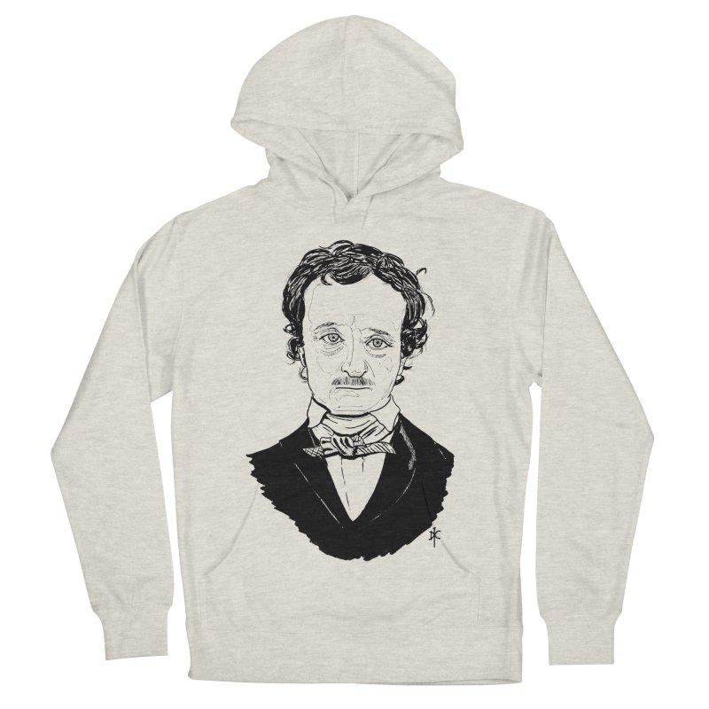 Edgar Allan Poe Women's Pullover Hoody by donnovanknight's Artist Shop