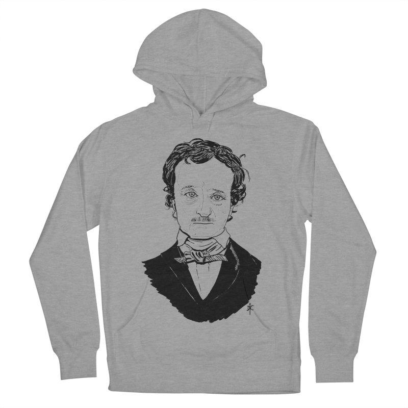 Edgar Allan Poe Men's Pullover Hoody by donnovanknight's Artist Shop