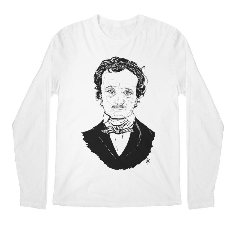 Edgar Allan Poe Men's Longsleeve T-Shirt by donnovanknight's Artist Shop