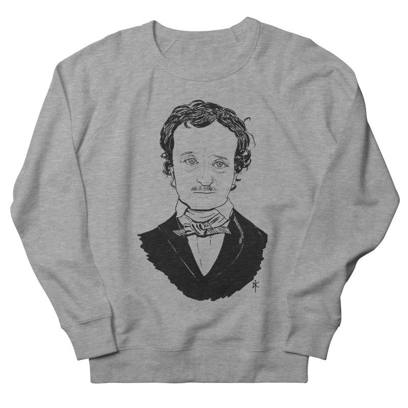 Edgar Allan Poe Women's Sweatshirt by donnovanknight's Artist Shop