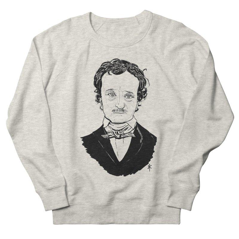 Edgar Allan Poe Men's Sweatshirt by donnovanknight's Artist Shop