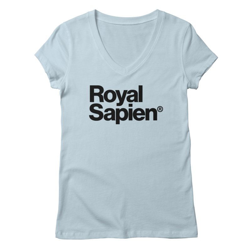 Royal Sapien Logo Women's V-Neck by DROP