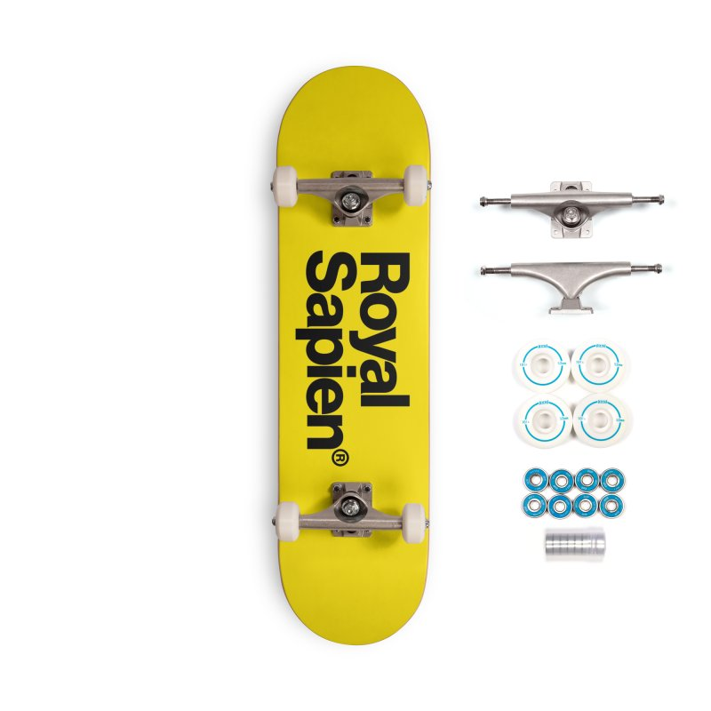 Royal Sapien Logo Accessories Skateboard by DROP